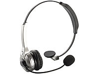 Callstel Profi-Mono-Headset mit Bluetooth, NFC & Noise-Cancelling Callstel On-Ear-Mono-Headsets mit Bluetooth