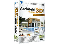 Avanquest Architekt 3D X7.6 Premium - 3D Haus & Gartenplaner Avanquest CAD-Softwares (PC-Softwares)