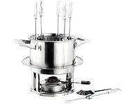 rosenstein s hne spiritusbrenner fondue antik asiatisches gusseisen fondue set mit spiritus. Black Bedroom Furniture Sets. Home Design Ideas