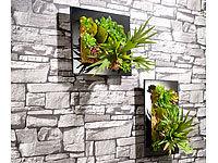 Infactory faltbare kunststoff vasen color tube 7er set - Vertikaler wandgarten ...