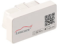 Lescars OBD2-Profi-Adapter, Bluetooth, App für Android & iOS, Streckenrekorder Lescars OBD2-Kfz-Adapter mit Smartphone-Apps