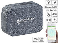 TrackerID GPS- & GSM-Tracker, Live-Tracking-App, SOS-Funktion, Geofencing, IP66 TrackerID GPS-GSM-Tracker mit Apps & SOS-Funktionen