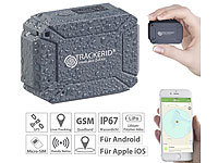 TrackerID GPS- & GSM-Tracker, Live-Tracking-App, SOS-Funktion, Geofencing, IP67 TrackerID Wasserdichte GPS-GSM-Tracker mit Apps & SOS-Funktionen