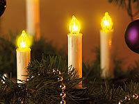 led weihnachtsbaum lichterkette mit 20 led kerzen ip20 von. Black Bedroom Furniture Sets. Home Design Ideas