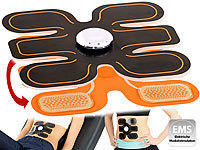 PEARL sports EMS-Bauchmuskel- & Sixpack-Muskeltrainer mit 6 Pads PEARL sports EMS-Bauchmuskeltrainer