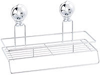 carlo milano gitter ablage mit saugnapf halterung f r. Black Bedroom Furniture Sets. Home Design Ideas