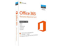 Microsoft Office 365 Personal 1 Jahresabonnement (1 Benutzer, ProductKeyCard) Microsoft Office-Paket (PC-Software)