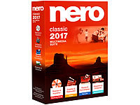 Nero Classic 2017 Multimedia Suite Nero Brennprogramme & Archivierungen (PC-Softwares)
