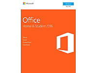 Microsoft Office 2016 Home & Student mit Word, Excel, PowerPoint und OneNote Microsoft Office-Pakete (PC-Software)