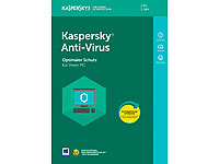 Kaspersky Anti-Virus 2018 (Product-Key-Karte) Kaspersky Antivirus (PC-Software)