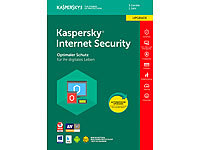 Kaspersky Internet Security 2018 Upgrade - 3 Lizenzen für PCs/Macs Kaspersky Internet & PC-Security (PC-Softwares)
