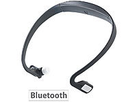auvisio Kabelloses Bluetooth Sport-Headset BN-930.bt mit MP3 & Radio auvisio