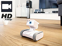 7links Home-Security-Rover HSR-1 mit HD-Video, weltweit fernsteuerbar 7links WLAN-Kamera-Roboter