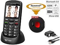 simvalley mobile notruf handys komfort handy xl 915 v2 mit garantruf ladestation senioren. Black Bedroom Furniture Sets. Home Design Ideas