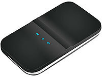 simvalley MOBILE 2in1 WLAN-Hotspot mit 3G/UMTS-Modem, SIM-Lock-frei simvalley MOBILE 3G Hotspots