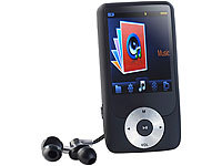 "auvisio DMP-361.fm MP3- und Video-Player/Recorder mit XXL-Display 2,4"" auvisio MP3- & Video Player"
