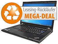 "Lenovo Thinkpad T520, 39,6 cm / 15,6"", Core i5, 240 GB SSD, Win 10 (refurb.) Lenovo Notebooks & Laptops"