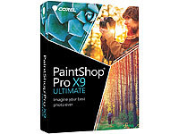 Corel Paintshop Pro X9 Ultimate Corel Bildbearbeitungen (PC-Softwares)