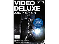 MAGIX Video deluxe 2016 Premium MAGIX Videobearbeitung (PC-Softwares)