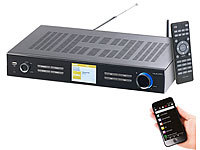 VR-Radio Digitaler WLAN-HiFi-Tuner mit Internetradio, DAB+, UKW, Streaming, MP3 VR-Radio Empfänger für Internetradio & DAB+, mit USB-Ladestationen