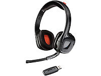 Plantronics Drahtloses Gaming-Headset GameCom P80 für PC, Mac und PS4 Drahtlose Gaming-Headsets