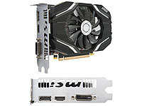 MSI Grafikkarte GeForce GTX 1050 OC, DP/HDMI/DVI, 2 GB GDDR5, PCIe x16 3.0 MSI Grafikkarten