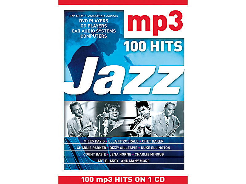 CD: 100 MP3-Hits Jazz (MP3 CDs)