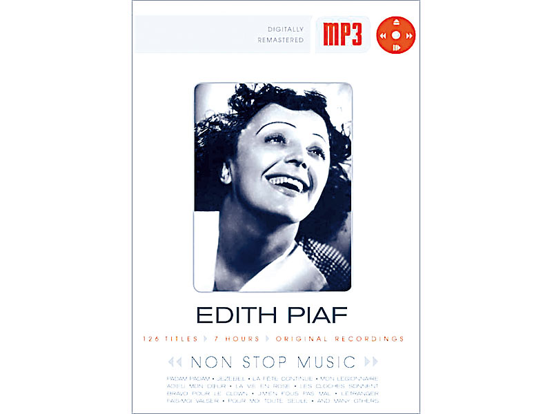 Edith Piaf (MP3-CD)