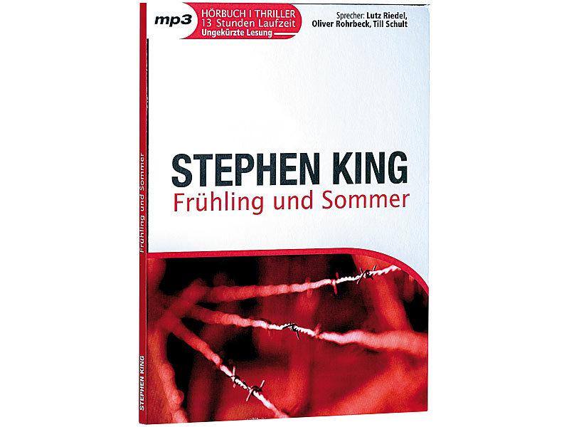 Hörbuch (CD): Stephen King - Frühling und Sommer - MP3-Hörbuch (13 ...