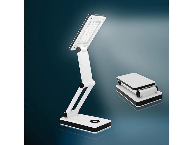 schreibtischlampe kabellos mit 30 hellen leds batterie und usb. Black Bedroom Furniture Sets. Home Design Ideas
