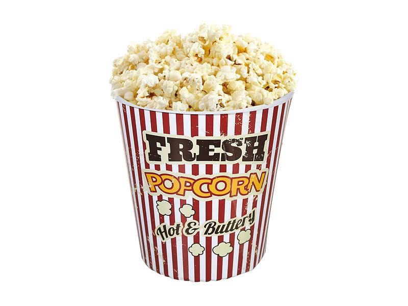 Neu Vintage Kino Popcorn Becher Sp 252 Lmaschinenfest 18 Cm