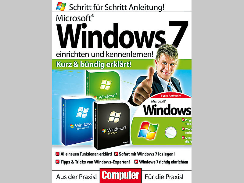 microsoft windows 7 schritt f r schritt anleitung mit video lernkurs. Black Bedroom Furniture Sets. Home Design Ideas