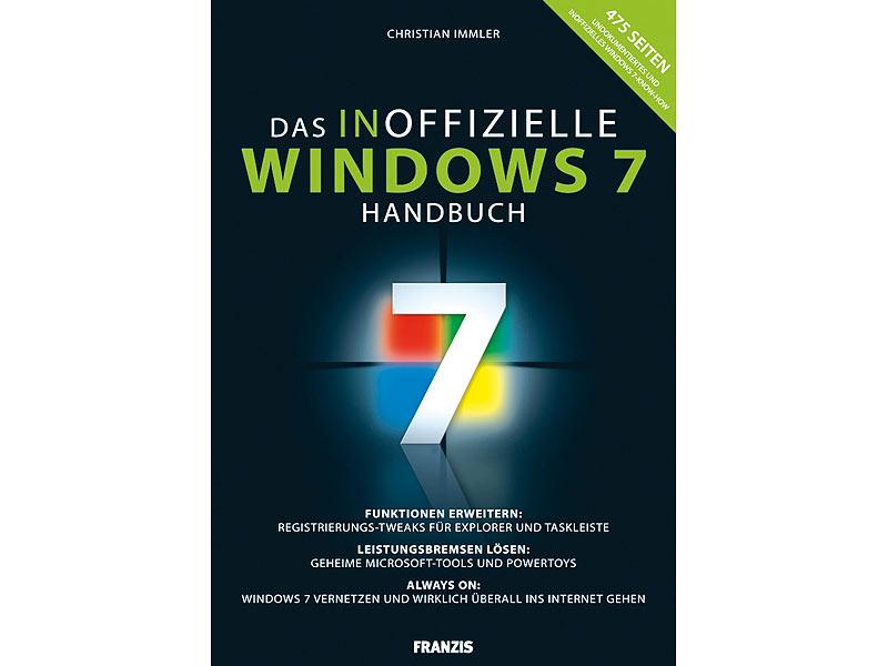 Bildergebnis für Win7 - Das inoffizielle Handbuch