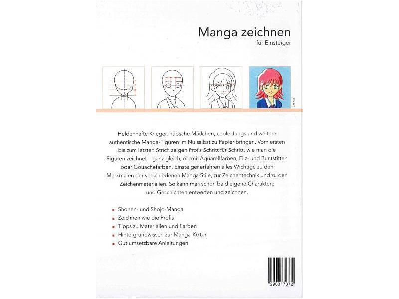 Buch (Diverses): Manga zeichnen für Einsteiger