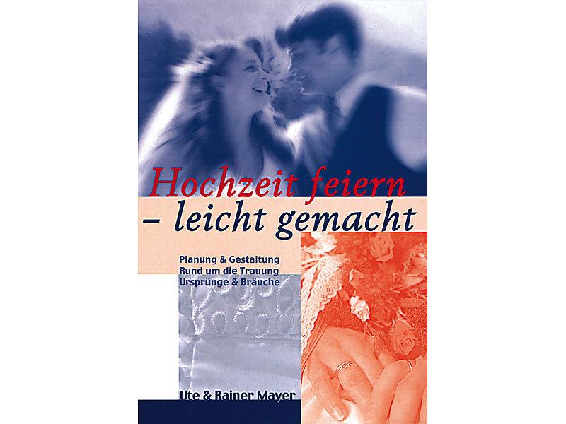 Verschiedenes Buch Hochzeit Feiern Leicht Gemacht