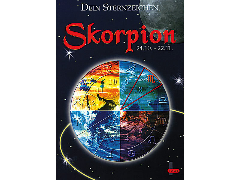 Sternzeichen Skorpion ...