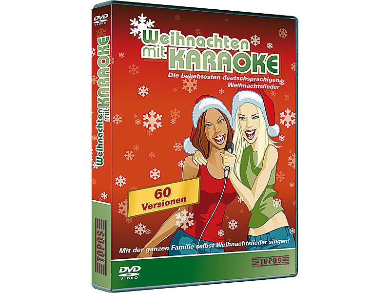 Musik DVD: Karaoke-DVD Weihnachten mit Karaoke (DVDs Karaoke)