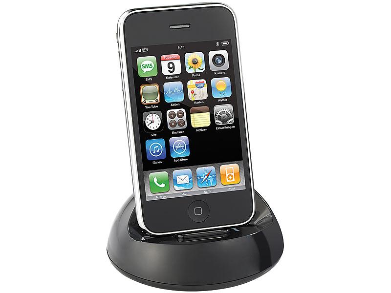 Callstel universal dockingstation f r iphone bis 4s und ipod for Tisch iphone design