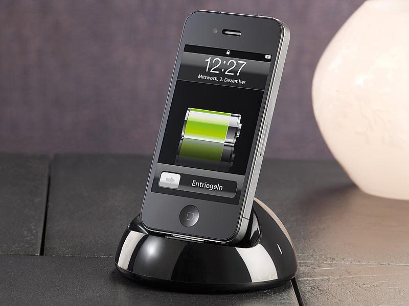 callstel universal dockingstation f r iphone bis 4s und ipod. Black Bedroom Furniture Sets. Home Design Ideas