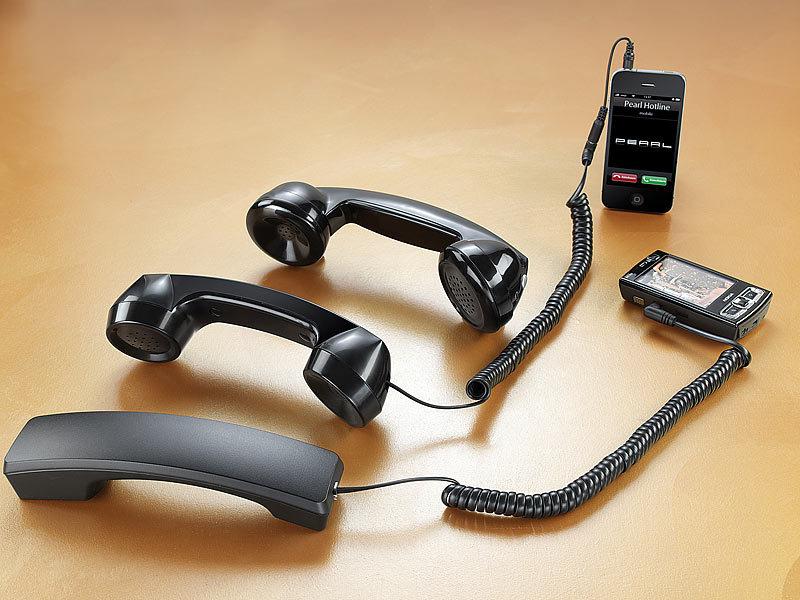 callstel telefonh rer im retro stil f r iphone nokia und. Black Bedroom Furniture Sets. Home Design Ideas