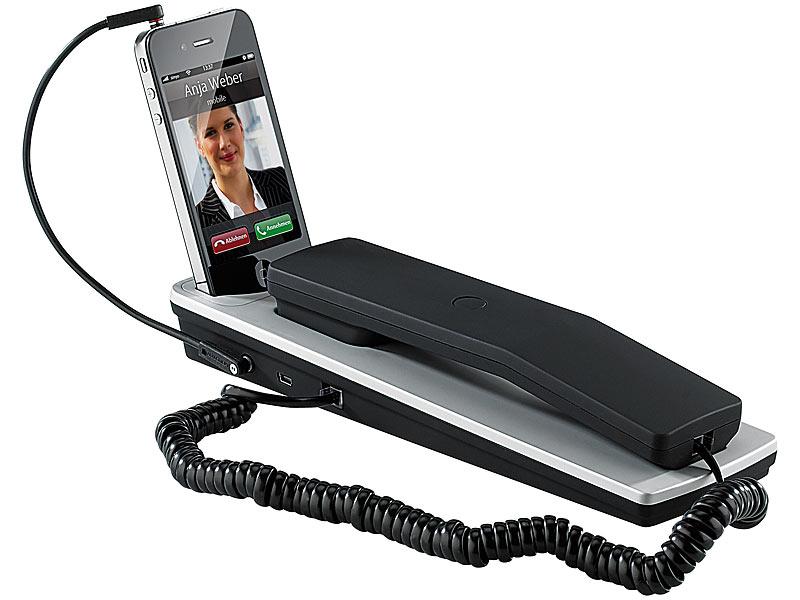 callstel dockingstation mit komfort telefonh rer f r. Black Bedroom Furniture Sets. Home Design Ideas