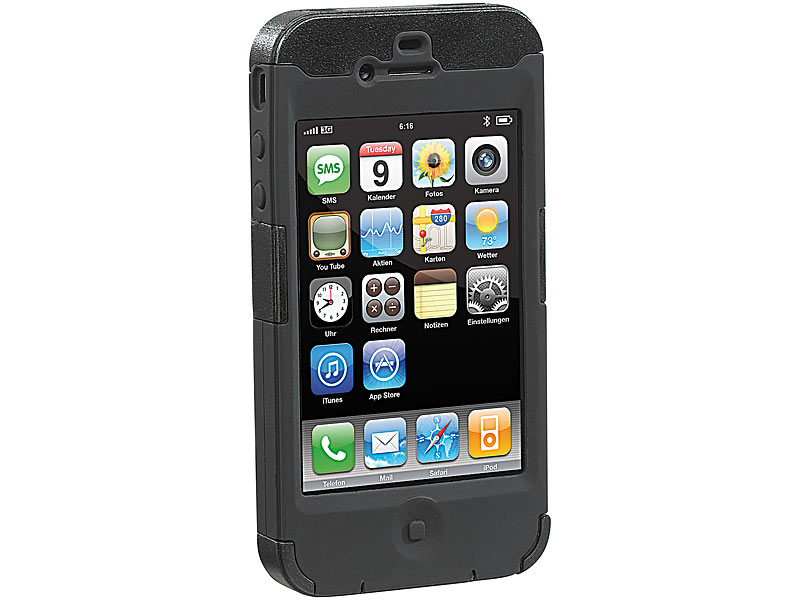 xcase iphone 4s schutztasche doppel protektor f r iphone 4 gegen st e kratzer iphone 4 h lle. Black Bedroom Furniture Sets. Home Design Ideas