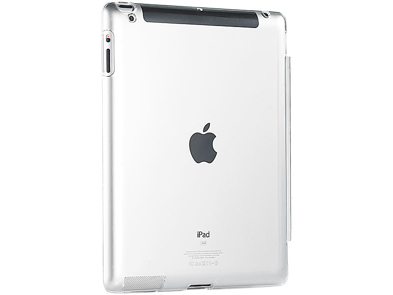 xcase ipad schutz glasklares schutzcover crystal case f r ipad 2 new ipad apple ipad. Black Bedroom Furniture Sets. Home Design Ideas