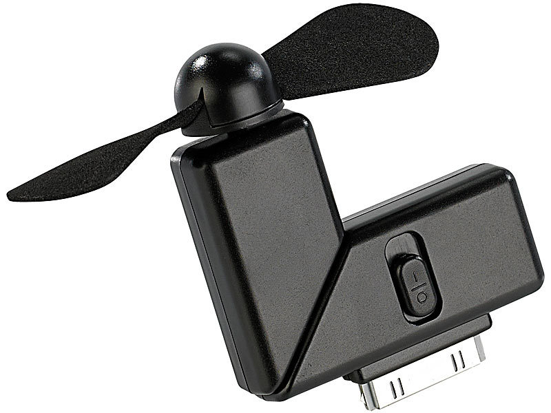 callstel mini ventilator f r iphone ipod touch mit dock connector 30 polig. Black Bedroom Furniture Sets. Home Design Ideas