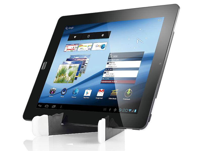 callstel faltbarer st nder f r ipad tablet pc smartphones. Black Bedroom Furniture Sets. Home Design Ideas