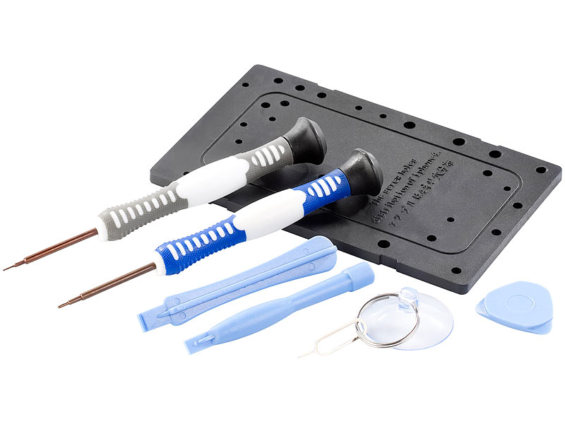 callstel werkzeug set zur iphone 4 reparatur 8 teilig. Black Bedroom Furniture Sets. Home Design Ideas
