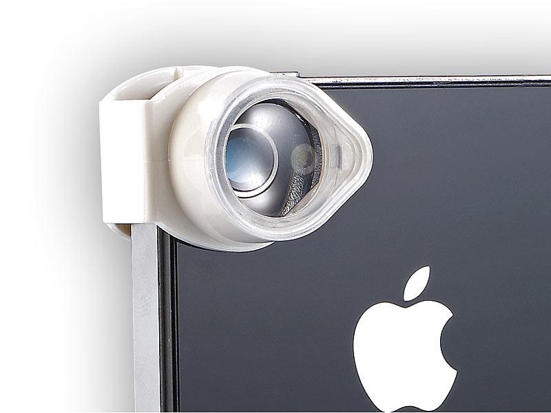 Somikon iphone linsen adapter: mikroskop adapter für iphone mit 4