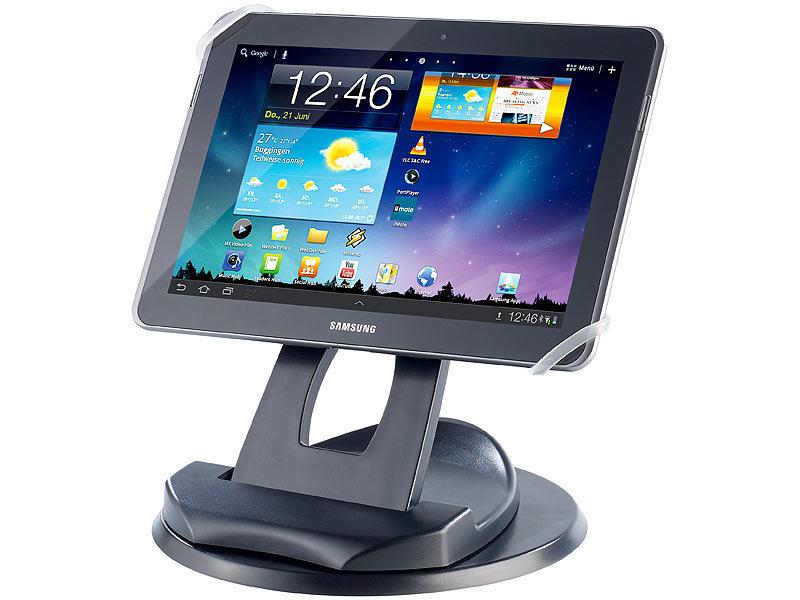callstel 2in1 tisch st nder f r tablet pcs mit. Black Bedroom Furniture Sets. Home Design Ideas