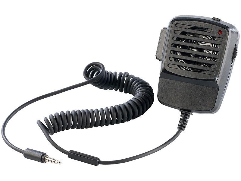 callstel lautsprecher im walkie talkie design f r handys und iphone. Black Bedroom Furniture Sets. Home Design Ideas