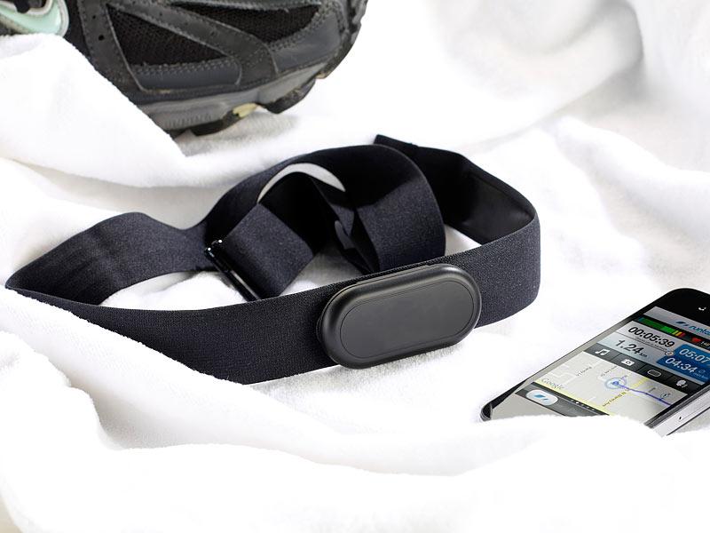 newgen medicals pulsmesser bluetooth puls brustgurt f r. Black Bedroom Furniture Sets. Home Design Ideas